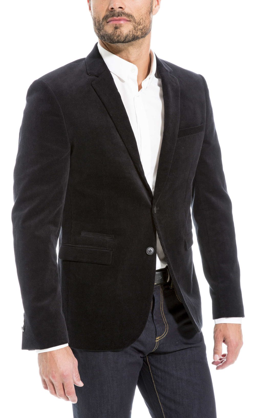 Veste noir homme