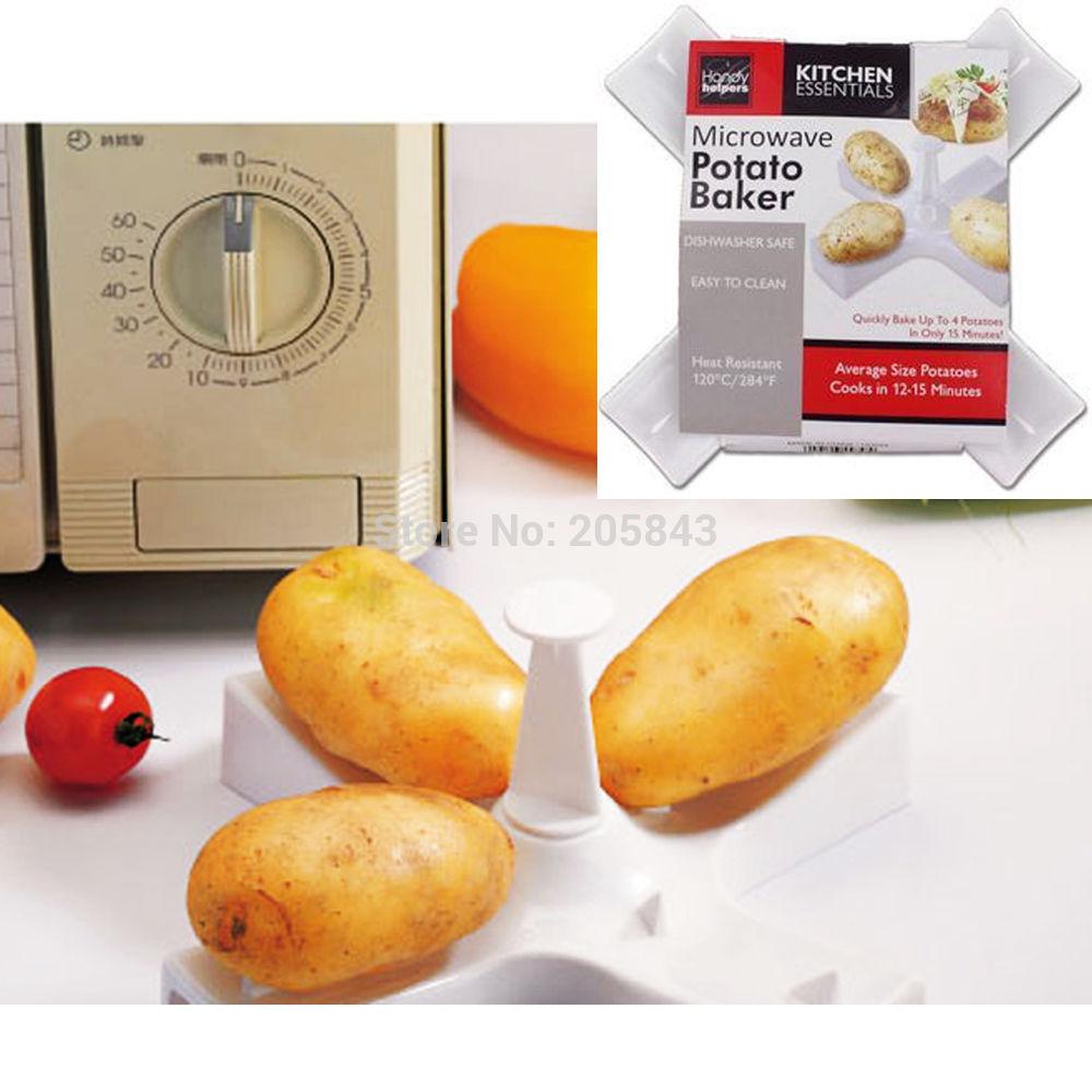 Comment faire cuire des pommes de terre au micro onde - Faire germer des pommes de terre ...